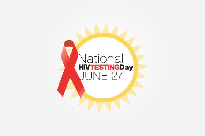 hiv testing day banner