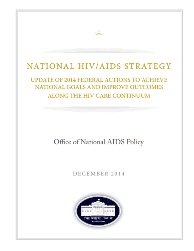 Progress in Four Years of the National HIV/AIDS Strategy