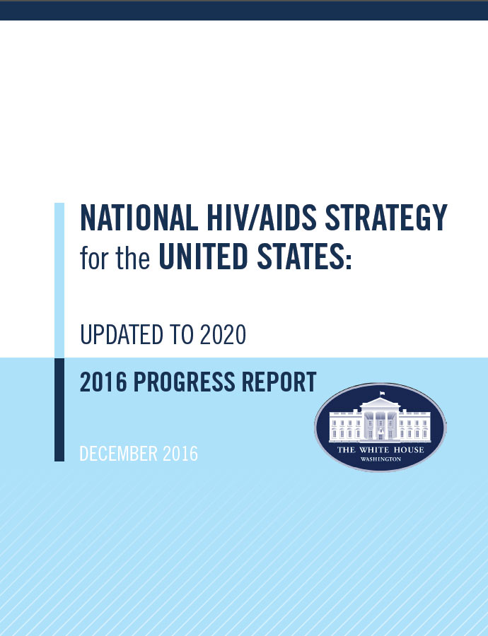 2016 NHAS Progress Report