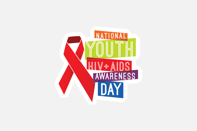 National Youth HIV and AIDS Awareness Day banner