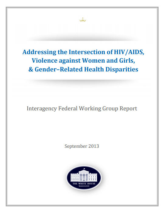 Addressing the Intersection of HIV/AIDS, Violence Against Women and Girls, and Gender-Related Health Disparities