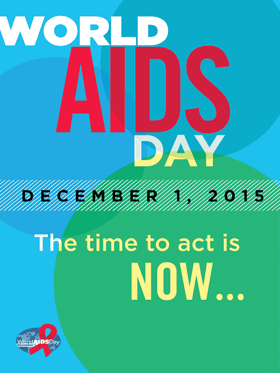 World AIDS day poster 2015