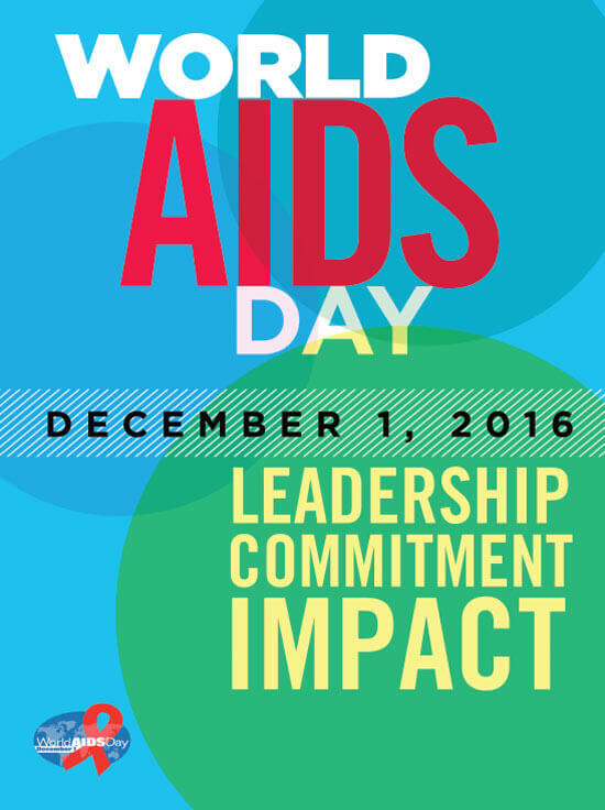 2016 Federal Posters And Images The Time To Act Is Now World AIDS Day December 1